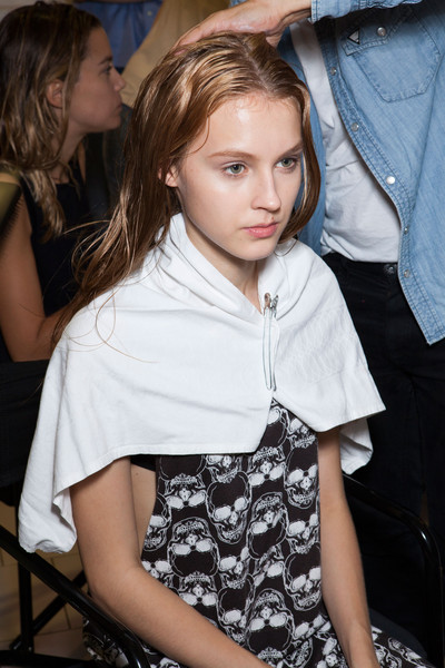 Genny at Milan Spring 2014 (Backstage)