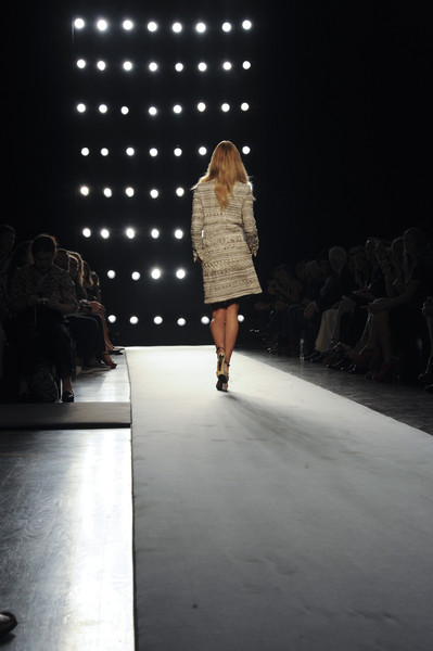 Gianfranco Ferré at Milan Spring 2011
