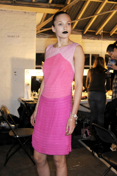 Giles Fall 2008 - Backstage