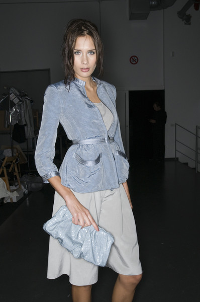 Giorgio Armani at Milan Spring 2009 (Backstage)