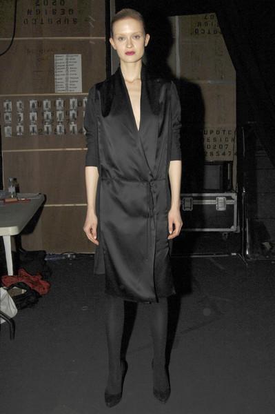 Hamish Morrow Fall 2007 - Backstage