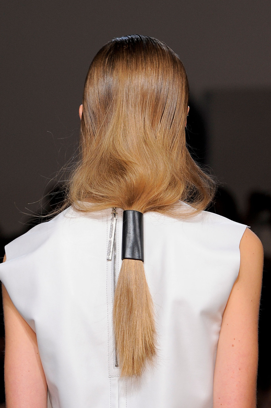 Hair Trend Report  Leather Hair Accessories - Hair Trend Report ... 4f075d6042a