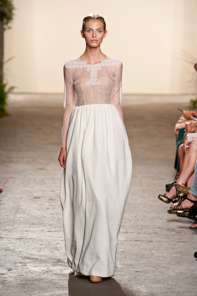 Best Spring 2013 Runway Gowns - Honor