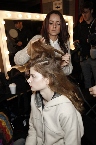 House of Holland Fall 2011 - Backstage