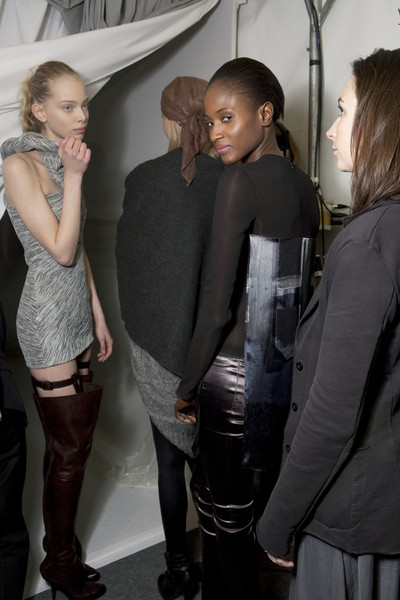 Hussein Chalayan Fall 2009 - Backstage