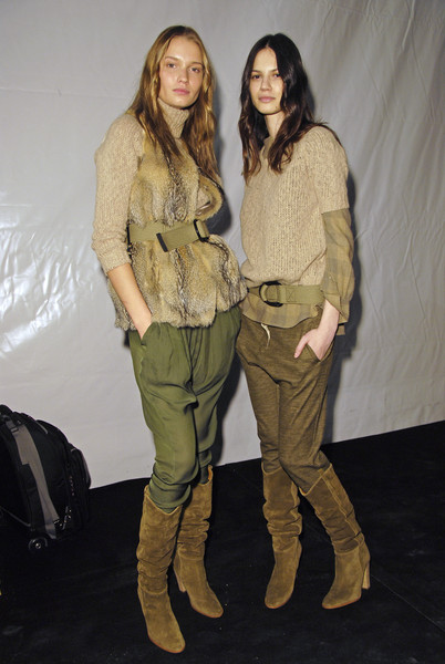 Isabel Marant Fall 2008 - Backstage