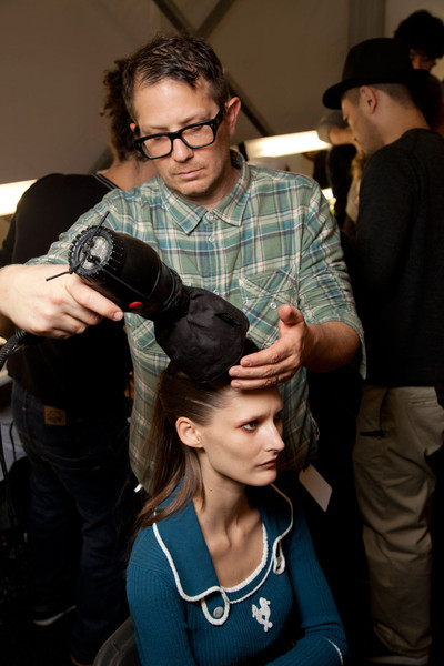 Issa Fall 2012 - Backstage