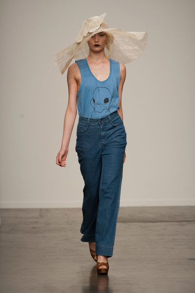 Ivana Helsinki at New York Spring 2014