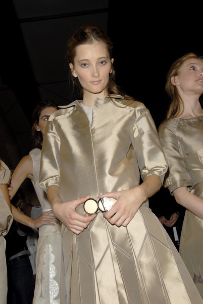 J. Mendel at New York Spring 2007 (Backstage)