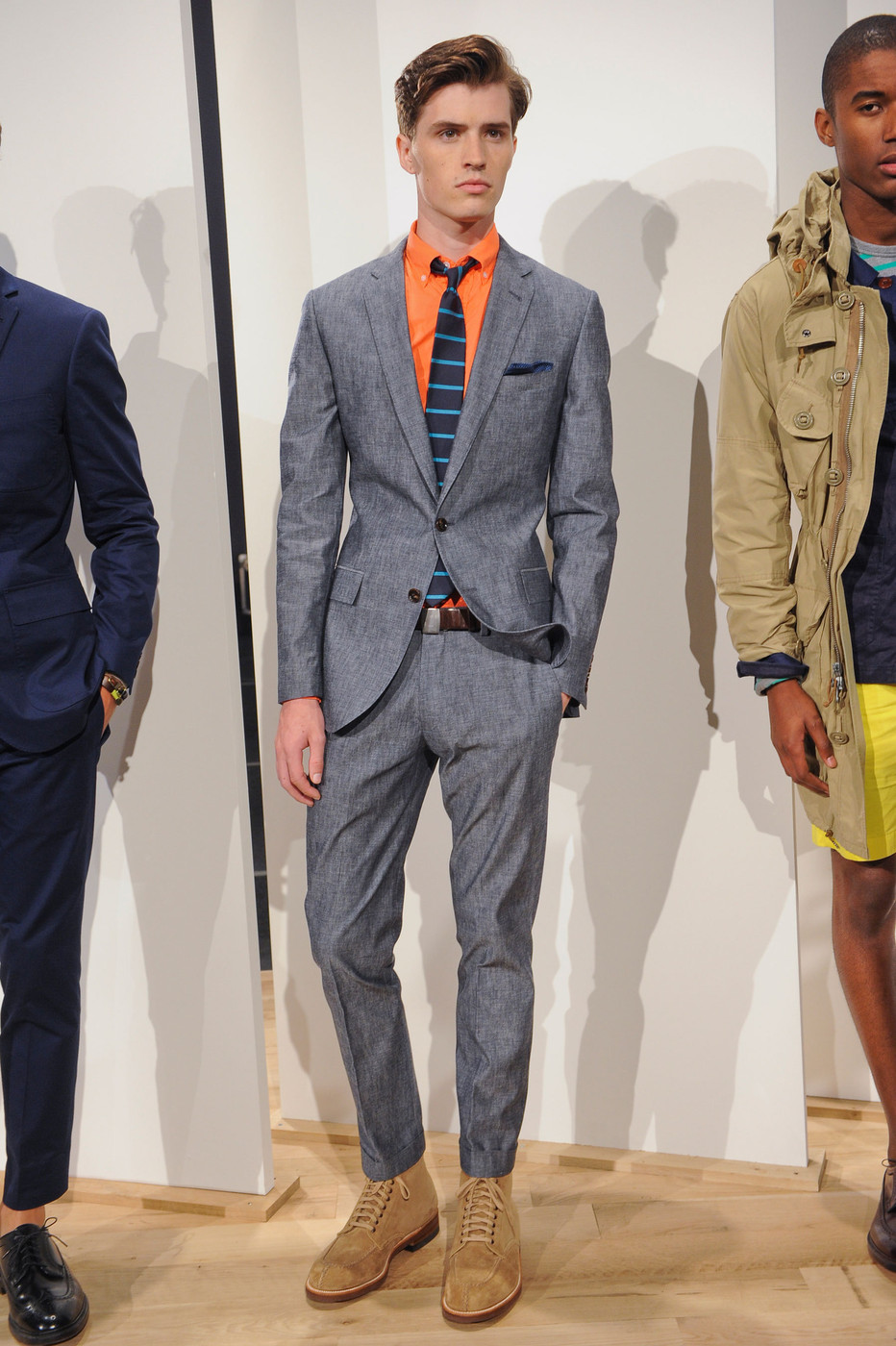 J crew mens at new york fashion week spring 2013 stylebistro for J crew mens outfits