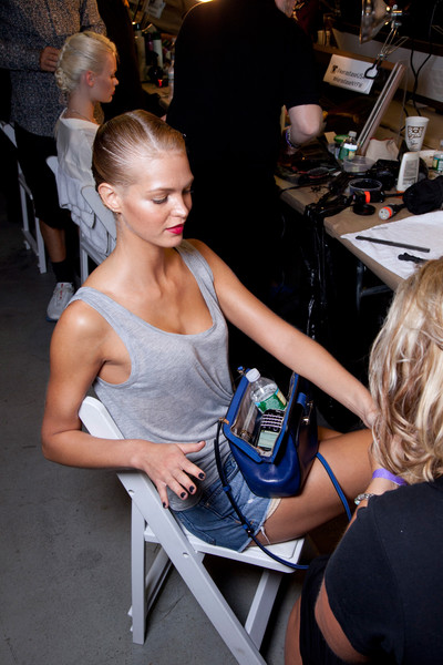 Jason Wu Spring 2013 - Backstage