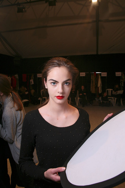 Jean-Charles de Castelbajac at Paris Fall 2011 (Backstage)