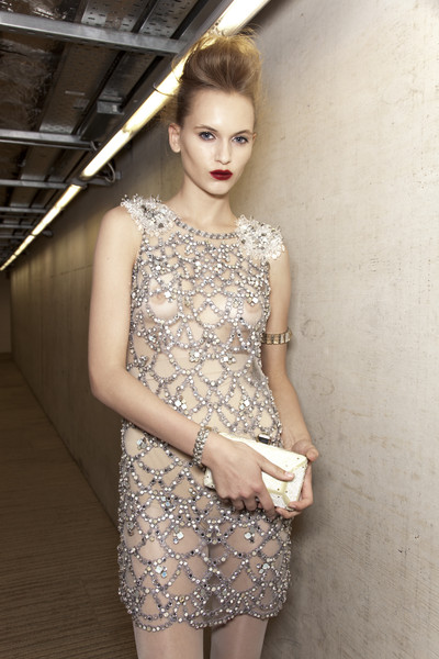 Jenny Packham at London Spring 2010 (Backstage)