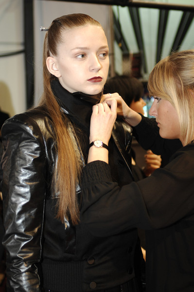Jens Laugesen Fall 2008 - Backstage