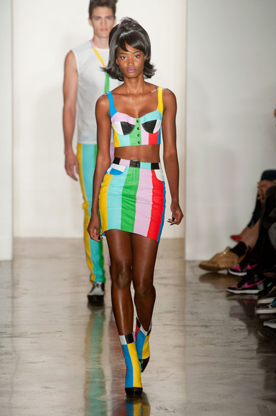 Jeremy Scott at New York Spring 2014