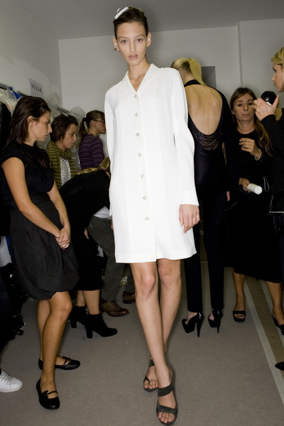 Jil Sander at Milan Spring 2009 (Backstage)