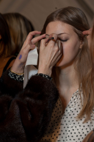 Jill Stuart Fall 2012 - Backstage