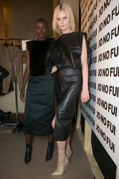 Jo No Fui at Milan Fall 2013 (Backstage)