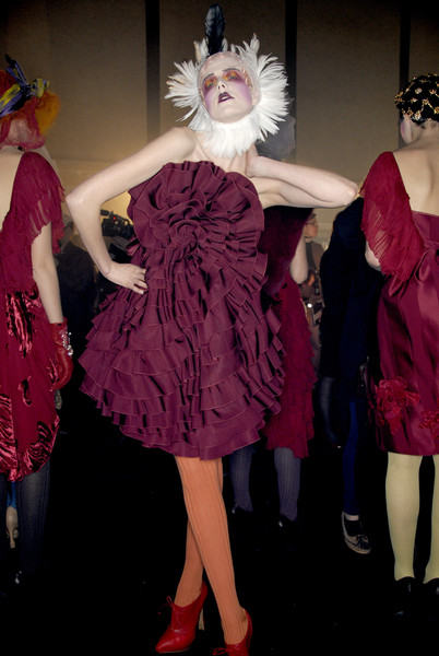 John Galliano Fall 2007 - Backstage
