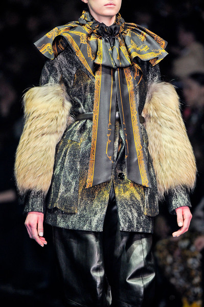 John Galliano Fall 2012 - Details