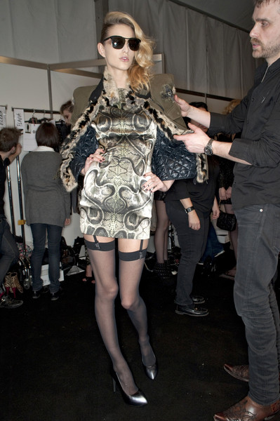 John Richmond at Milan Fall 2010 (Backstage)