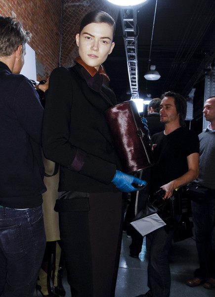 Jonathan Saunders Fall 2008 - Backstage