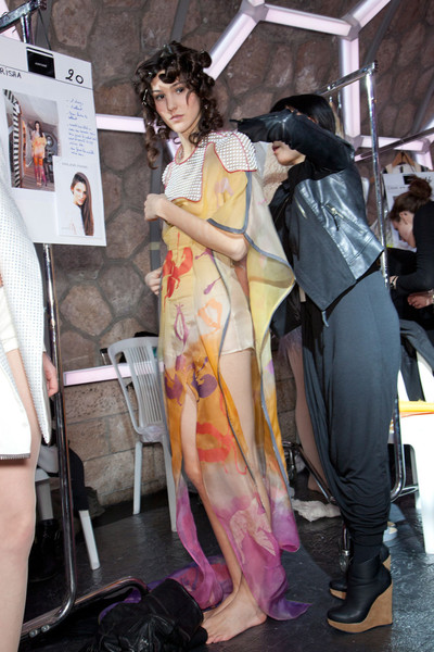 Julien Fournie Spring 2012 - Backstage