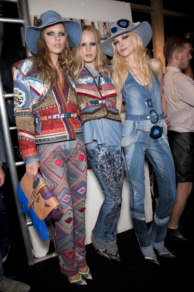 Just Cavalli Spring 2011 - Backstage