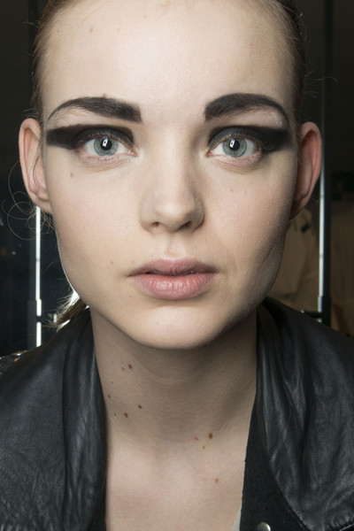 Krizia at Milan Fall 2013 (Backstage)