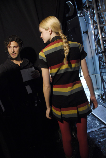 Lacoste Fall 2008 - Backstage