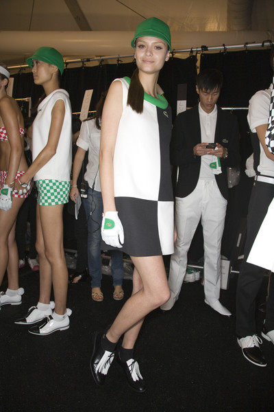 Lacoste Spring 2009 - Backstage