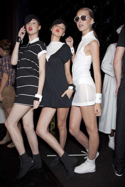 Lacoste Spring 2011 - Backstage