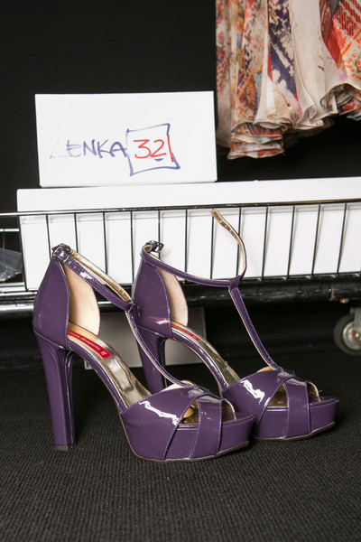 Laura Biagiotti Fall 2013 - Backstage