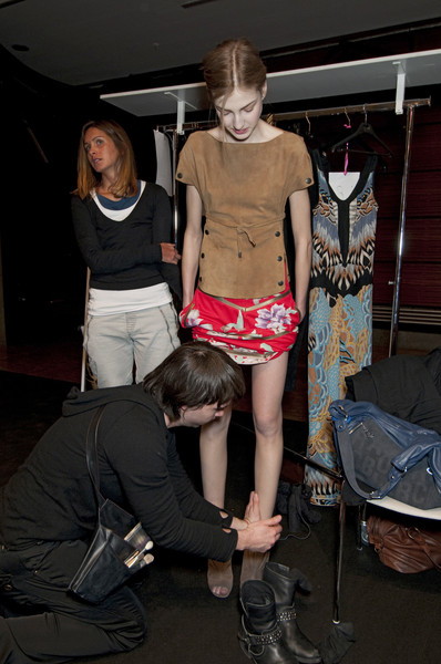 Leonard Fall 2010 - Backstage