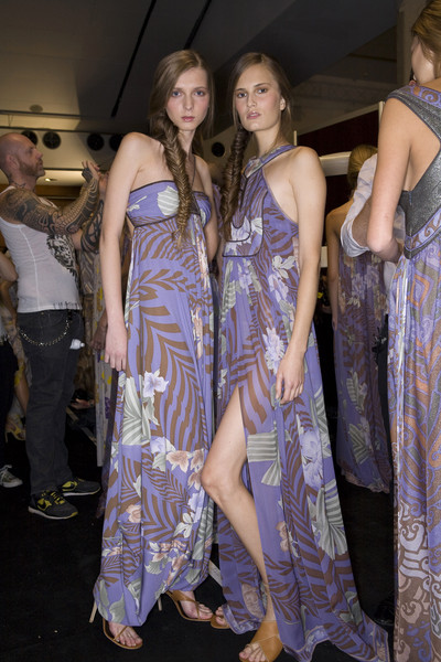 Leonard at Paris Spring 2009 (Backstage)