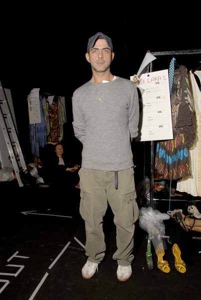 Les Copains at Milan Spring 2007 (Backstage)