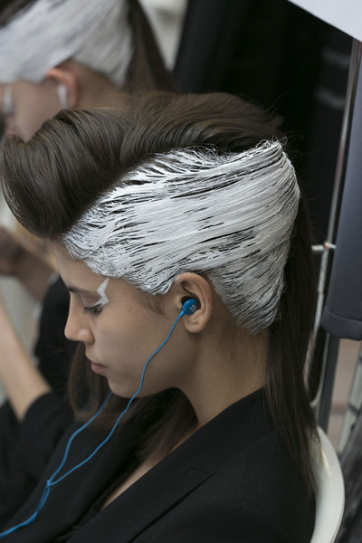 Lie Sang Bong at Paris Fall 2013 (Backstage)