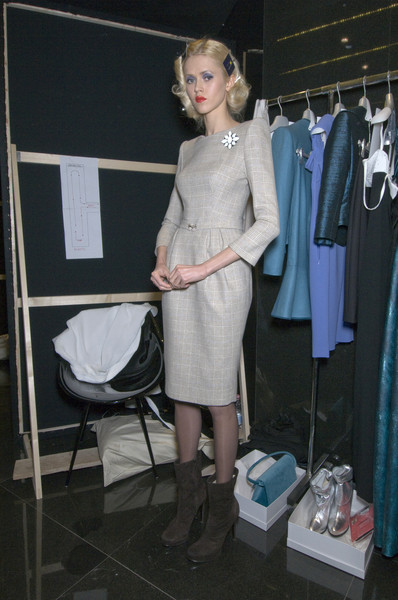 Lorenzo Riva at Milan Fall 2010 (Backstage)
