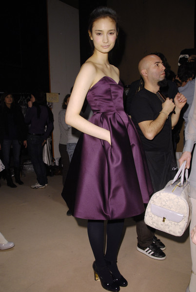 Luisa Beccaria Fall 2008 - Backstage
