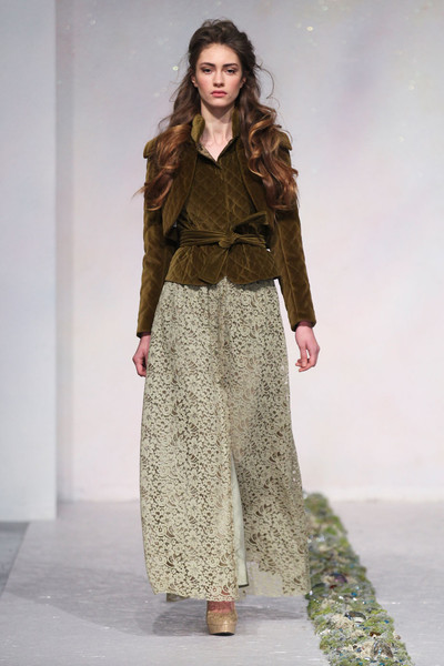 Luisa Beccaria at Milan Fall 2012