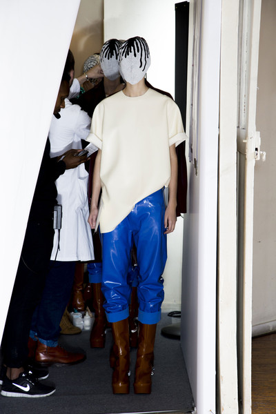 Maison Martin Margiela Fall 2013 - Backstage