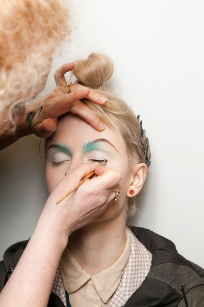Manish Arora Fall 2012 - Backstage