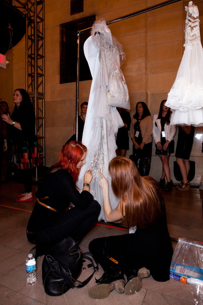Marchesa Spring 2013 - Backstage