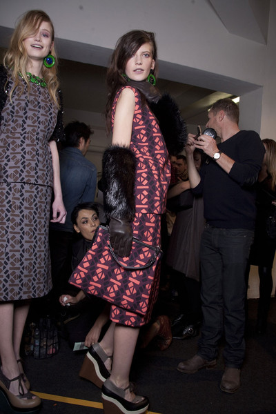 Marni Fall 2011 - Backstage