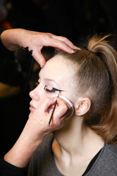 Mary Katrantzou Fall 2012 - Backstage