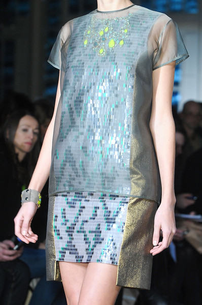 Matthew Williamson at London Fall 2012 (Details)