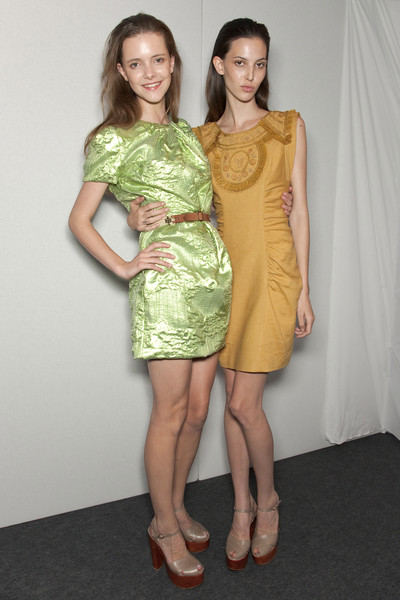 Matthew Williamson Spring 2011 - Backstage