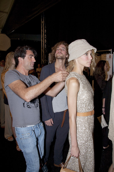 Michael Kors at New York Spring 2011 (Backstage)