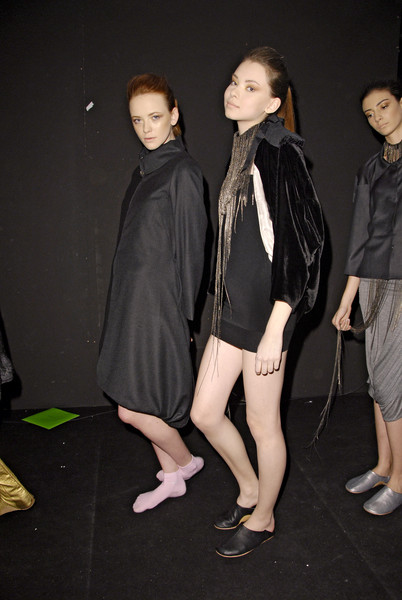 Milia M Fall 2008 - Backstage