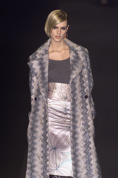 Missoni at Milan Fall 2001